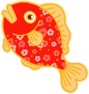 夏は金魚すくい
